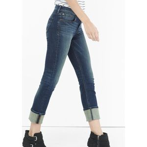 Express Mid Rise Cropped Skinny Jeans